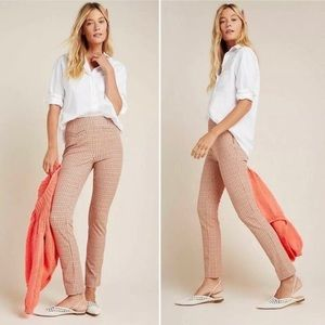 NWT Anthropologie The Essential Slim Trousers
